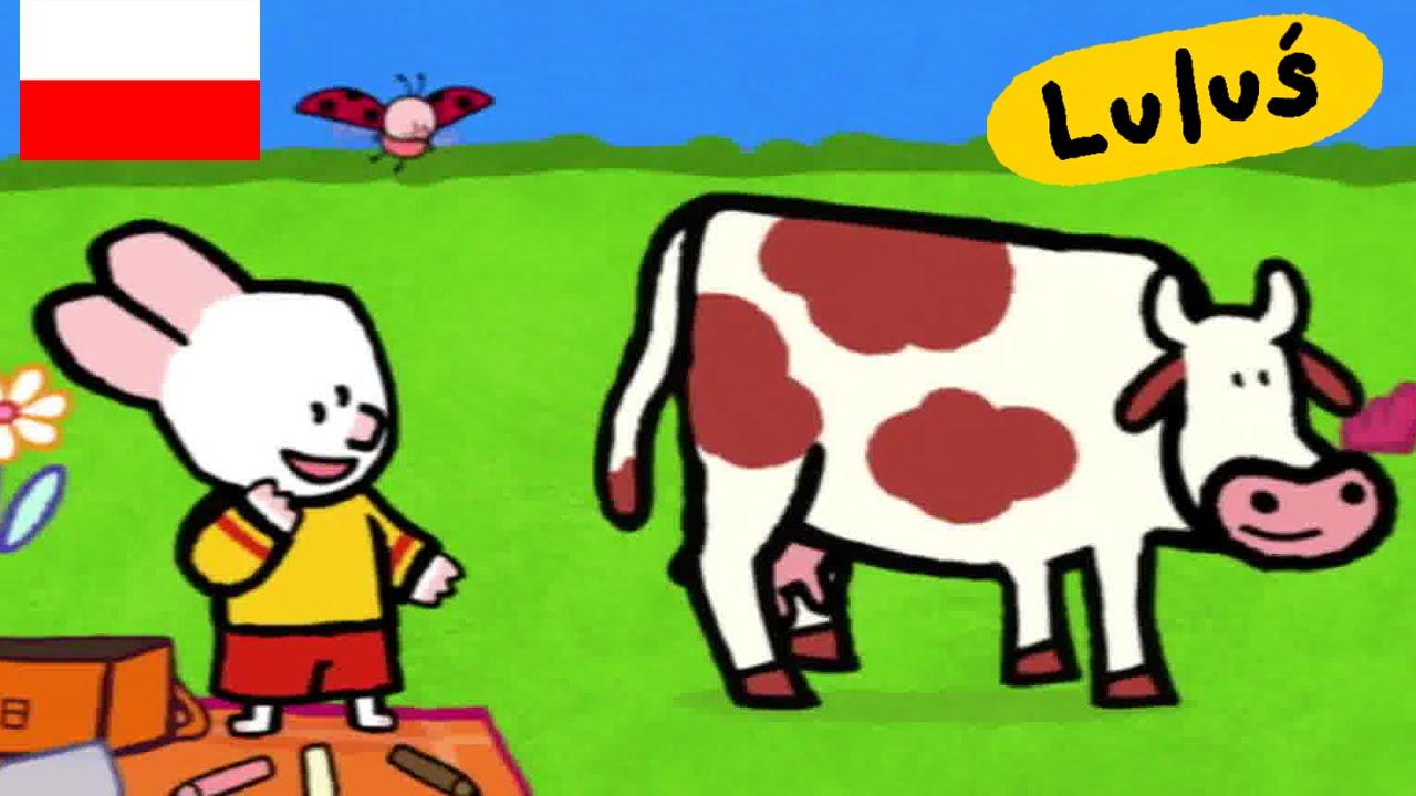 Luluś - Narysuj mi krowę S01E20 HD // Kreskówki dla dzieci