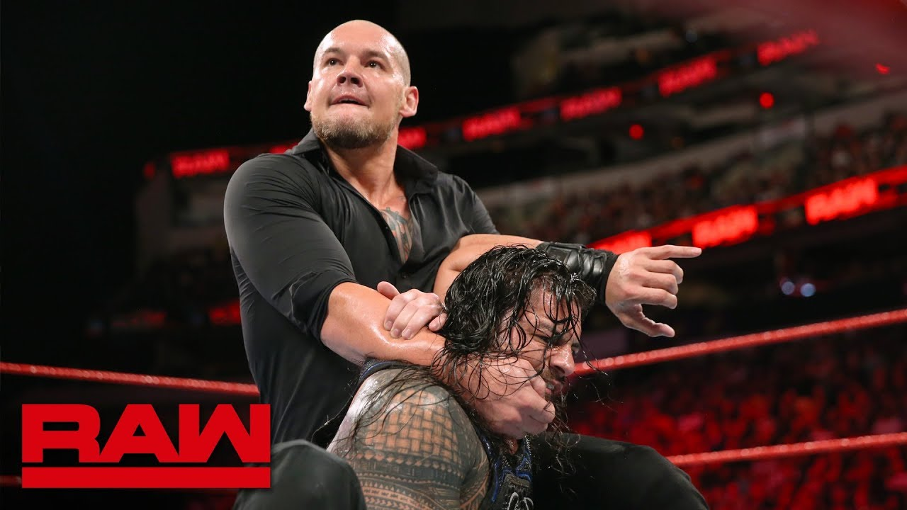 Download Roman Reigns vs. Baron Corbin - No Disqualification Universal Title Match: Raw, Sept. 17, 2018