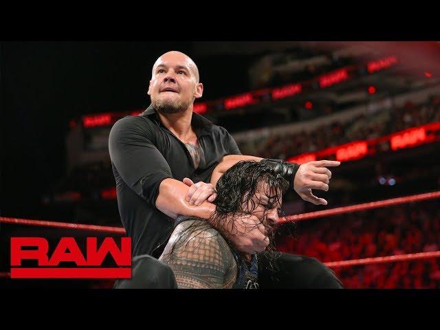 Roman Reigns vs. Baron Corbin - No Disqualification Universal Title Match: Raw, Sept. 17, 2018