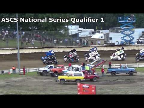 Skagit Speedway, 2018 Dirt Cup, Night 2, ASCS National Series Qualifiers 1,2 and 3