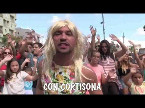 LA ALMORRANA   Parodia 'La Bicicleta' Carlos Vives  Shakira   Rudy y Ruymán
