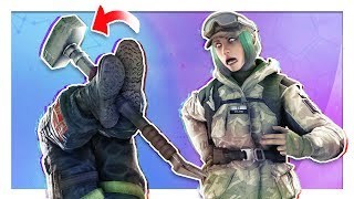 Strat Roulette but cheeks get clapped | Rainbow Six: Siege