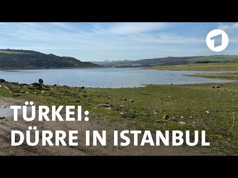 Dürre in Istanbul bedroht Wasserversorgung von Millionen Menschen | Weltspiegel