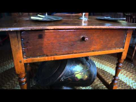 Antique Furniture Tavern Table Circa 1740
