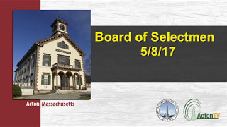 Board of Selectmen 5/8/17