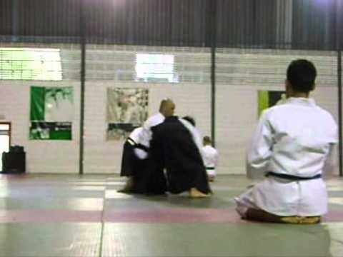 Apresentação de  Jeferson Soares sensei -Kyowa Aikido Dojo Londrina-Pr