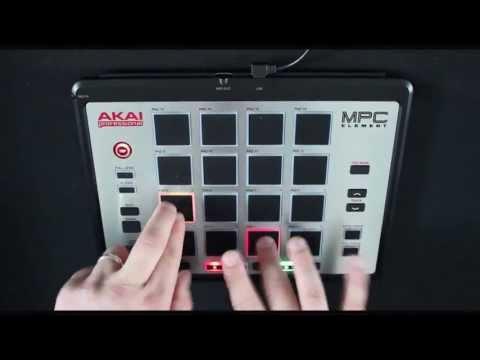 Akai - MPC Element WORLD EXCLUSIVE Demo at GAK