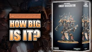Make All 3 Versions: 40k Chaos Knight Desecrator Unboxing & Build