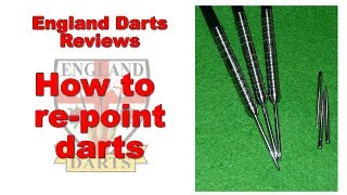 How to repoint darts easily!