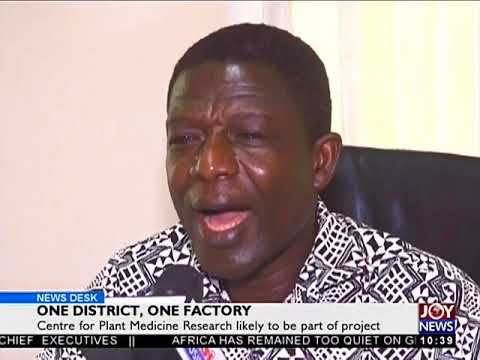 One District, One Factory - News Desk on Joy News (23-5-18)