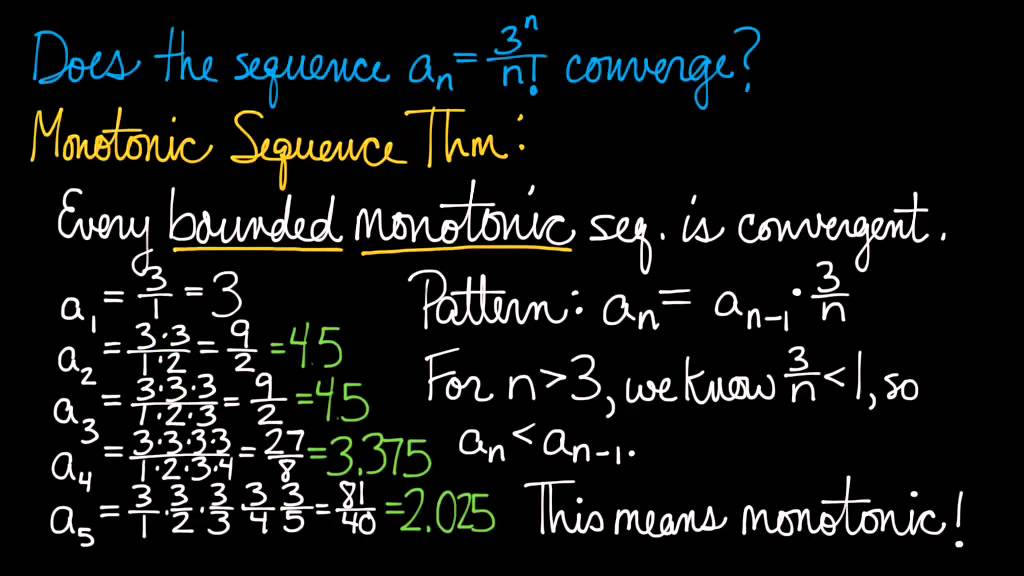 convergence of a sequence pdf