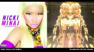 Nicki Minaj - Starships (Die Young Mashup)