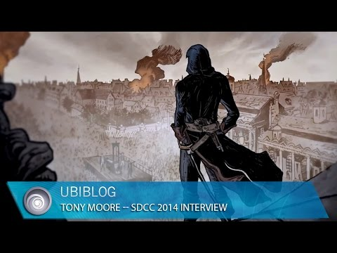 Assassin's Creed Unity – Comic Con 2014 – Tony Moore UbiBlog Interview [North America]