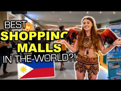 Filipino Shopping Malls are AMAZING, We Didn't Expect THIS!