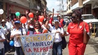 Desfile de carnaval 2015 en Villa de Cura