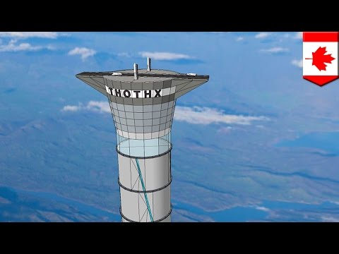 Space elevator: Company patents 'space elevator' 20x taller than world's tallest building - TomoNews