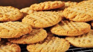 Peanut Butter Cookies Recipe Demonstration - Joyofbaking.com