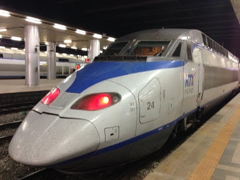 KTX Ride from Busan to Seoul