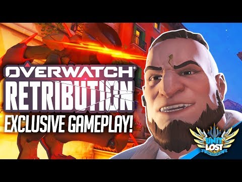 Overwatch Retribution EXCLUSIVE Gameplay! [From Overwatch HQ!]