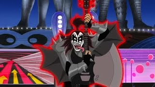 Скачать Scooby Doo And Kiss Rock And Roll Mystery I Was Made For Lovin You HD