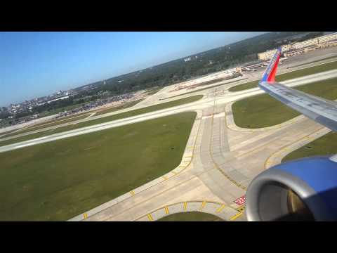Southwest Takeoff from Omaha, Nebraska in 4K!