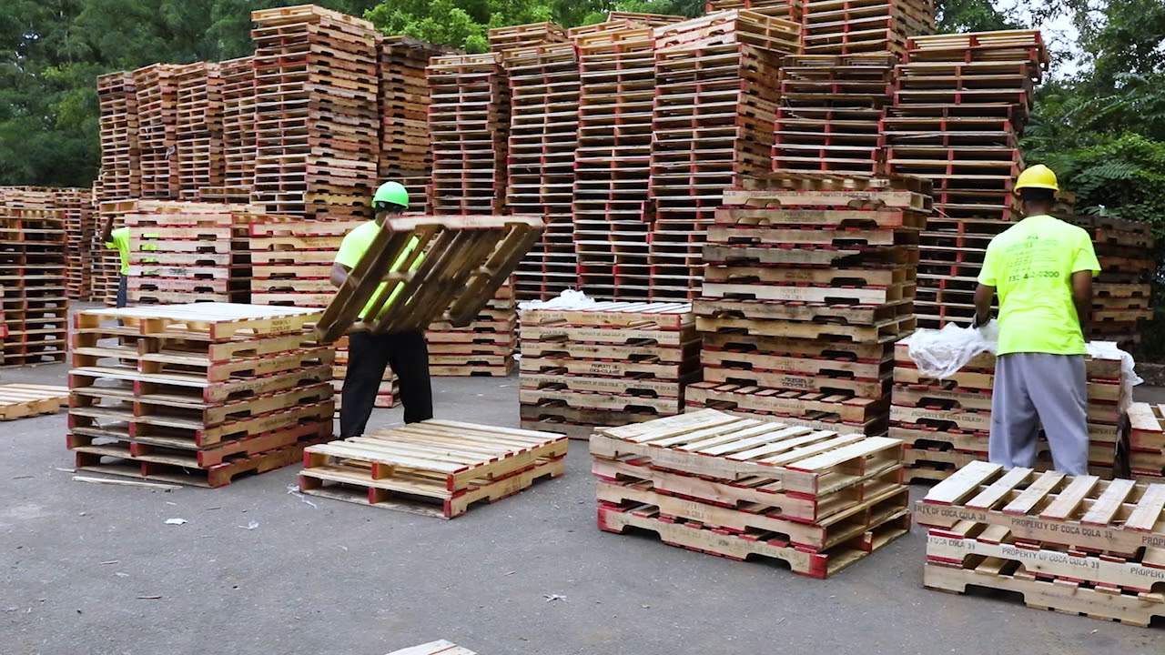 NJ Pallets, NY Pallets from Greenway Products & Services