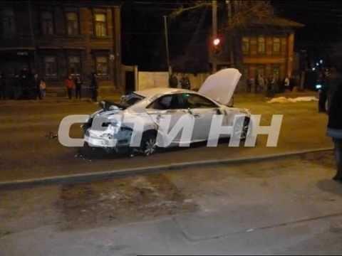 Скоростная езда по городу закончилась гибелью трех человек