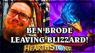 Ben Brode Leaves Blizzard ~ The Witchwood Hearthstone Heroes of Warcraft