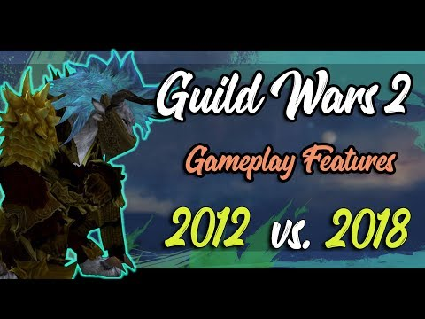 Guild Wars 2's 6th Anniversary - Top 6 Gameplay Features added over the years [2018 vs 2012] thumbnail