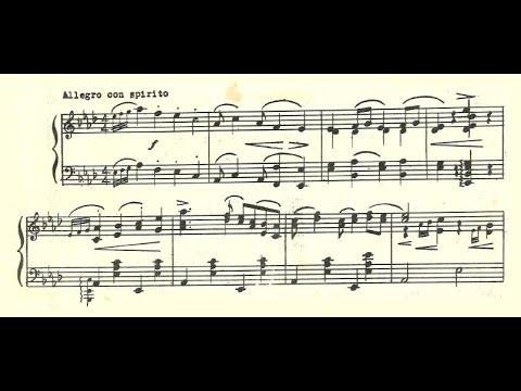 Vladimir Drozdoff - Cakewalk (audio + sheet music)