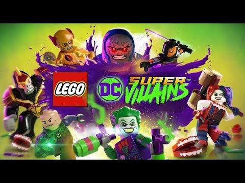 LEGO DC Super Villains. O FILME Dublado em Português PT.BR