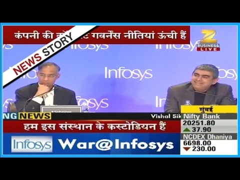Infosys chairman R. Seshasayee defends CEO Vishal Sikka's salary