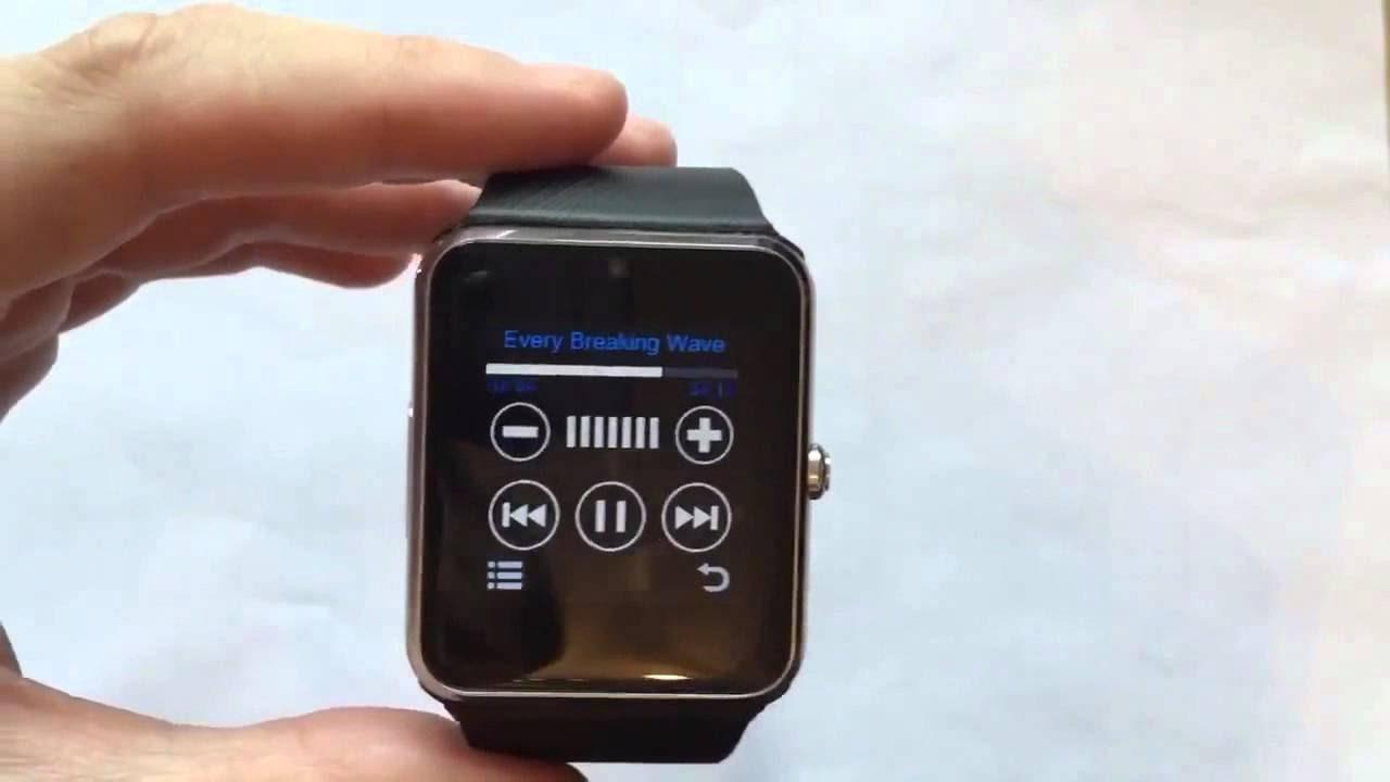 Телефон часы smart watch gt08 видео