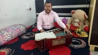 Raag bhopali chota khyaal (laaj rakho ab sham murari )by prince sufi 7206547512