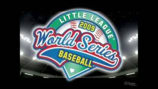 Little League World Series Baseball 2009 Nintendo DS