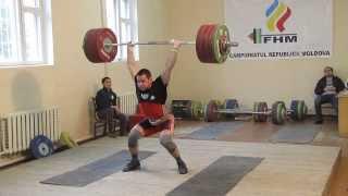 Тяжелая атлетика- Дмитрий Каптарь, толчок 200кг.
