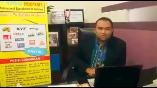 LOWONGAN KERJA PT MANDAR INDONESIA