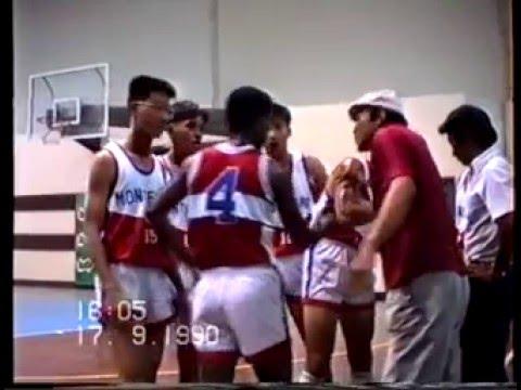 Basketball Montfort VS YRC 1990