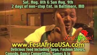 FestAfrica 2009 Promo - www.festafricausa.com - Aug 8 & 9