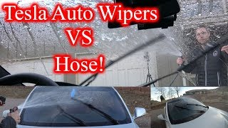 Which Camera Does TESLA Use for Auto Wipers?!