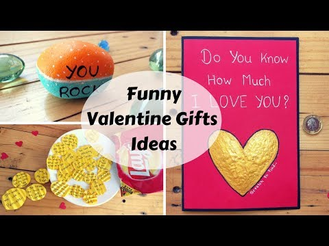 3 DIY Funny Valentine or Birthday Gifts/Card Ideas For Him/her ❤️