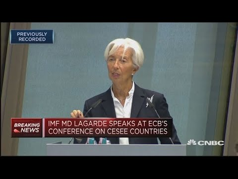 IMF's Lagarde: US-China trade tensions could just be the 'beginning' | Street Signs Europe
