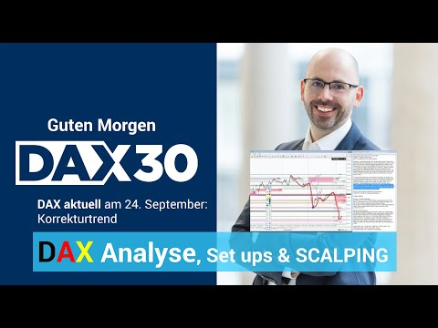 DAX aktuell: Analyse, Trading-Ideen & Scalping | DAX 30 | CFD Trading | DAX Analyse | 24.09.19
