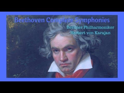 Beethoven Complete Symphonies | Berliner Philharmoniker | Herbert von Karajan