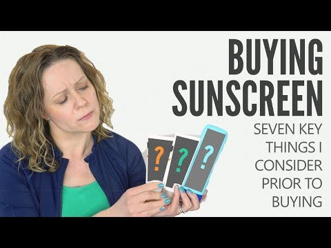 7 IMPORTANT FACTORS I CONSIDER WHEN BUYING SUNSCREEN - What I look for prior to purchase!