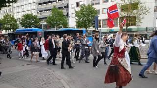 Norges nationaldag 2016 - Avenyn, Göteborg