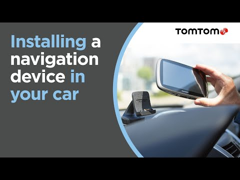 Installing Your Navigation Device In Your Car
