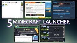 5 Minecraft LAUNCHER im Vergleich! - MC 1.15.2