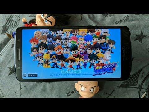 (Anime Game)Weekly Shonen Jump: Jikkyou Janjan Stadium | 3D Chibi Style Fighting Game