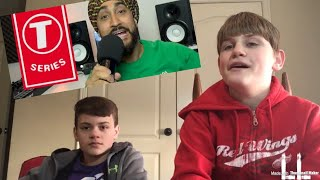 KIDS REACT TO IN DEFENSE OF T-SERIES